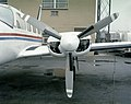 Left nacelle and propeller of a Piper PA-31 Navajo of Mohican Air Service - NARA - 17473674.jpg