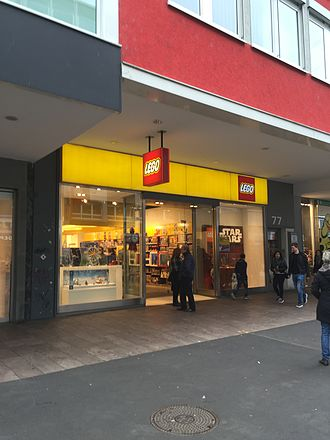The Lego Group - A Lego retail store