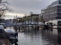 Leiden - Lijsbethbrug en zicht op Oude Singel.jpg