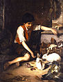 Lembesis Polychronis Child with Rabbits.jpg