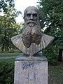 Leo Tolstoy bust, 2018 Zugló.jpg