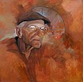 Leon Armantrout by David Fairrington Oil 2011.jpg