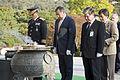 Leon Panetta lays a wreath, Seoul National Cemetery (3).jpg