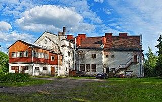 Lesogorsky Urban-type settlement in Leningrad Oblast, Russia
