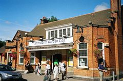 Letchworth Garden City Railway Station