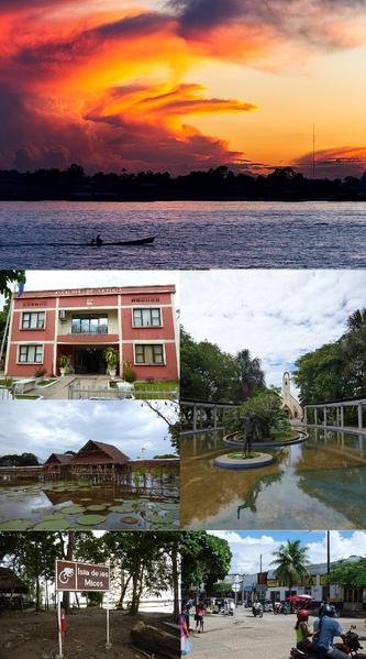 leticia, ciudad del río amazonas
