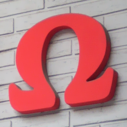 Letter omega 1