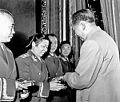 Li Zhen being awarded the rank of general.jpg