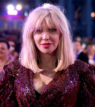 Courtney Love - Love at the 2014 Life Ball