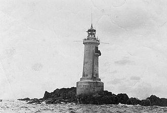 Kamen Opasnosti - Lighthouse on Kamen Opasnosti.