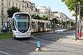Ligne A Tramway boulevard Foch rue Alsace Angers 8.jpg