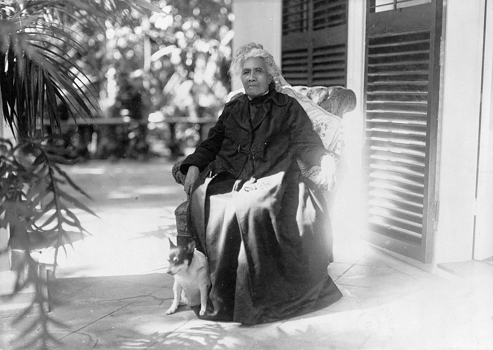 Liliuokalani in 1917