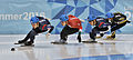 Lillehammer 2016 - Short track 1000m - Men Semifinals - Daeheon Hwang, Shaoang Liu, Kazuki Yoshinaga and Kyunghwan Hong 8.jpg