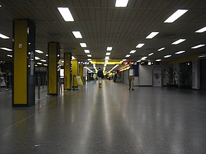 Linate Airport - Check-in area