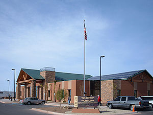 Lincoln National Forest - Forest Headquarters, Alamogordo, N.M.