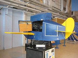 Link Trainer - Link Trainer at the Western Canada Aviation Museum