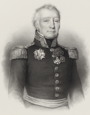 Charles-Alexandre Léon Durand Linois - Portrait of Linois, by Antoine Maurin