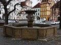 Litoměřice, druhá kašna na Mírovém náměstí.JPG