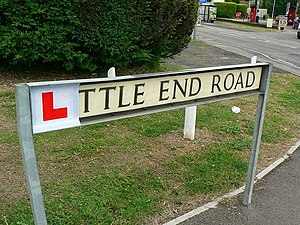 English: Little End Road, Still Learning But m...