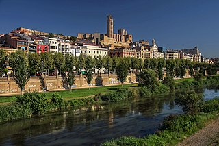 Lleida Municipality in Catalonia