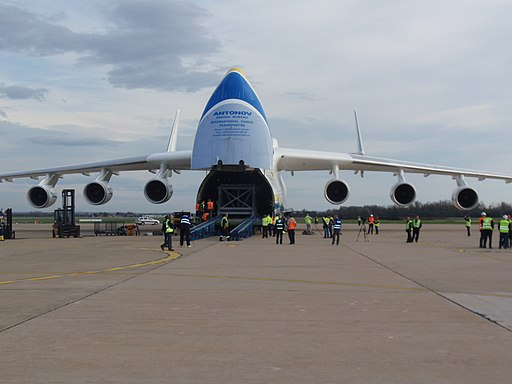 Loading of Antonov Airlines An-225 (UR-82060) at Zagreb Airport (1)