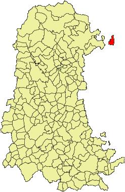 Localización de Berzosilla