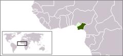 Biafras beliggenhed