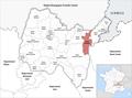 Locator map of Kanton Bellegarde-sur-Valserine 2019.png