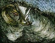Loch Ness Monster (peinture) de Heikenwaelder Hugo