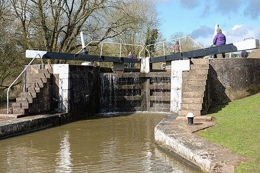 Lock in the Hatton Locks