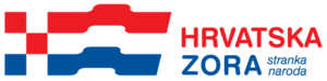 Croatian Dawn – Party of the People - Image: Logo HZ