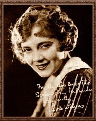 Lois Wilson (actress) - Lois Wilson, 1923