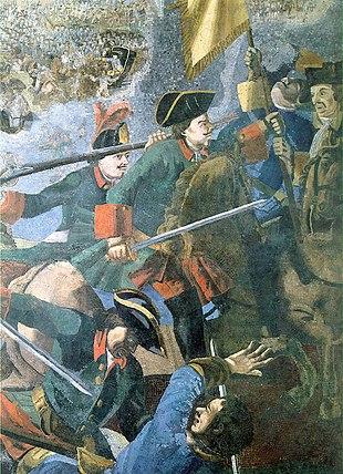 «Полтавская баталия». Фрагмент мозаики М.В.Ломоносова