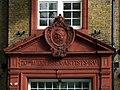London - Middlesex (Artists') Rifle Volunteers' drill hall (former), Duke's Road, Holborn - detail 2014-10-30 (15532038117).jpg