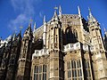 London Parliament - Westminster Abbey (rear) - panoramio.jpg