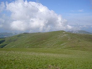 Drum (Wales) - Carnedd y Ddelw (Left) and Drum (Wales) (Right) from Foel-fras.