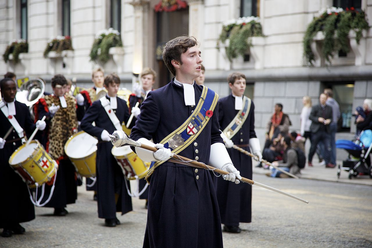 File:Lord Mayor's Show 2011 Christ's Hospital.jpg ...