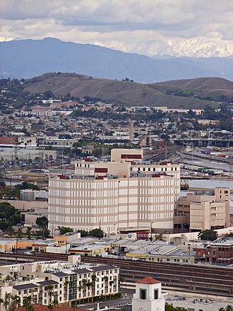 Twin Towers Correctional Facility - The jail is in close proximity to the civic center