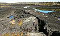 Lost Jim Lava FLow and Rain Ponds (9514007070).jpg