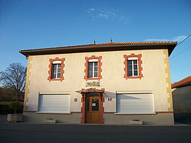 The town hall in Loudet