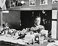 Louis Armstrong, Aquarium, New York, N.Y., ca. July 1946 (William P. Gottlieb 00231) - Cropped.jpg