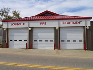 Louisville, Alabama - Image: Louisville Alabama Fire Department