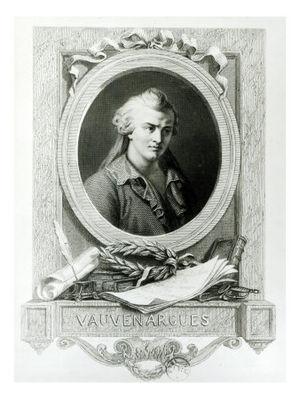 Vauvenargues, Luc de Clapiers, marquis de (1715-1747)