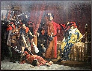 Le Prévôt des marchands Étienne Marcel et le dauphin Charles