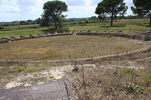 Lucus Feroniae - Roman amphitheater of Lucus Feroniae