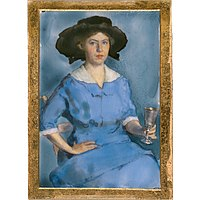 Lucy May Stanton - Lucy May Stanton Self-Portrait - NPG.72.24 - National Portrait Gallery.jpg
