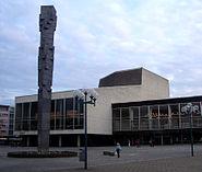 Ludwigshafen Pfalzbau Pfalzsäule 2005