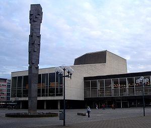 Ludwigshafen Pfalzbau Pfalzsäule 2005.jpg