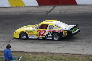 Mid-American Stock Car Series - 2010 series champion Lyle Nowak at Rockford