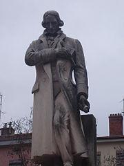 estatua de Jacquard en Lyon